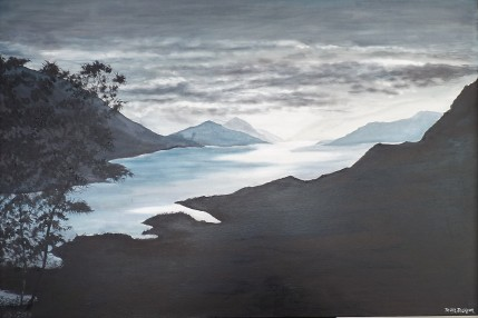 After the Storm, Pelorus Oil on Canvas 88cmW X 51cmH $650