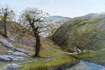 Cumbria-Lake District Oil on Canvas 91cmX61cm $850