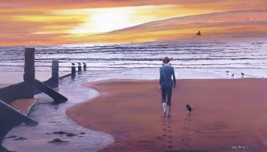 Incoming Tide Oil on Canvas 920cmH X 460cmW $750