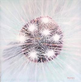 Dead as a Dandelion Oil on Canvas 45cmW X 45cmH $390