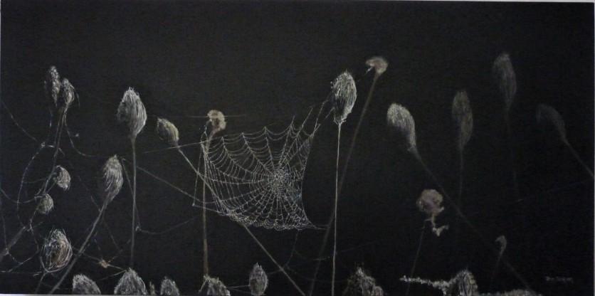 Spiders Lair Oil on Canvas 92cmW X 36cmH $590